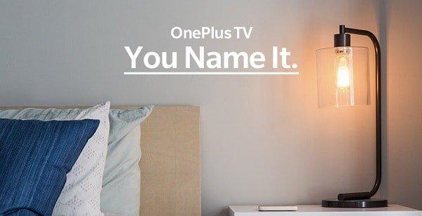 OnePlus TV anuncio