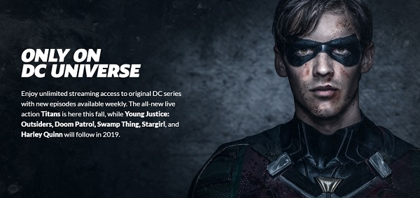 DC Universe series