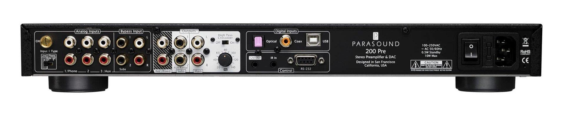 Amplificador con DAC NewClassic 200 Integrated Amplifier