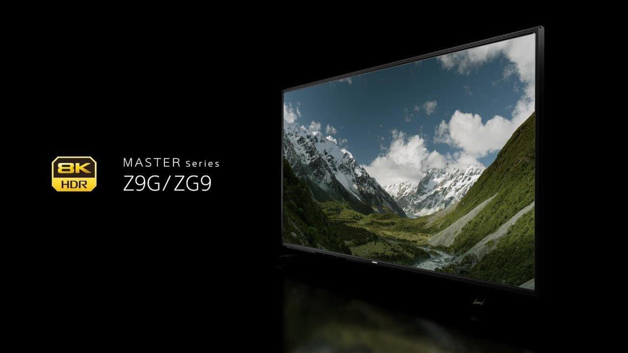 Smart TV Sony ZG9