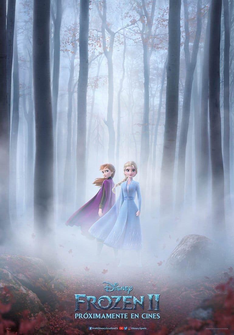Póster oficial Frozen 2 (2019)