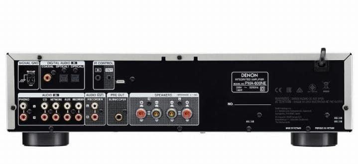 mplificador Denon PMA-600NE