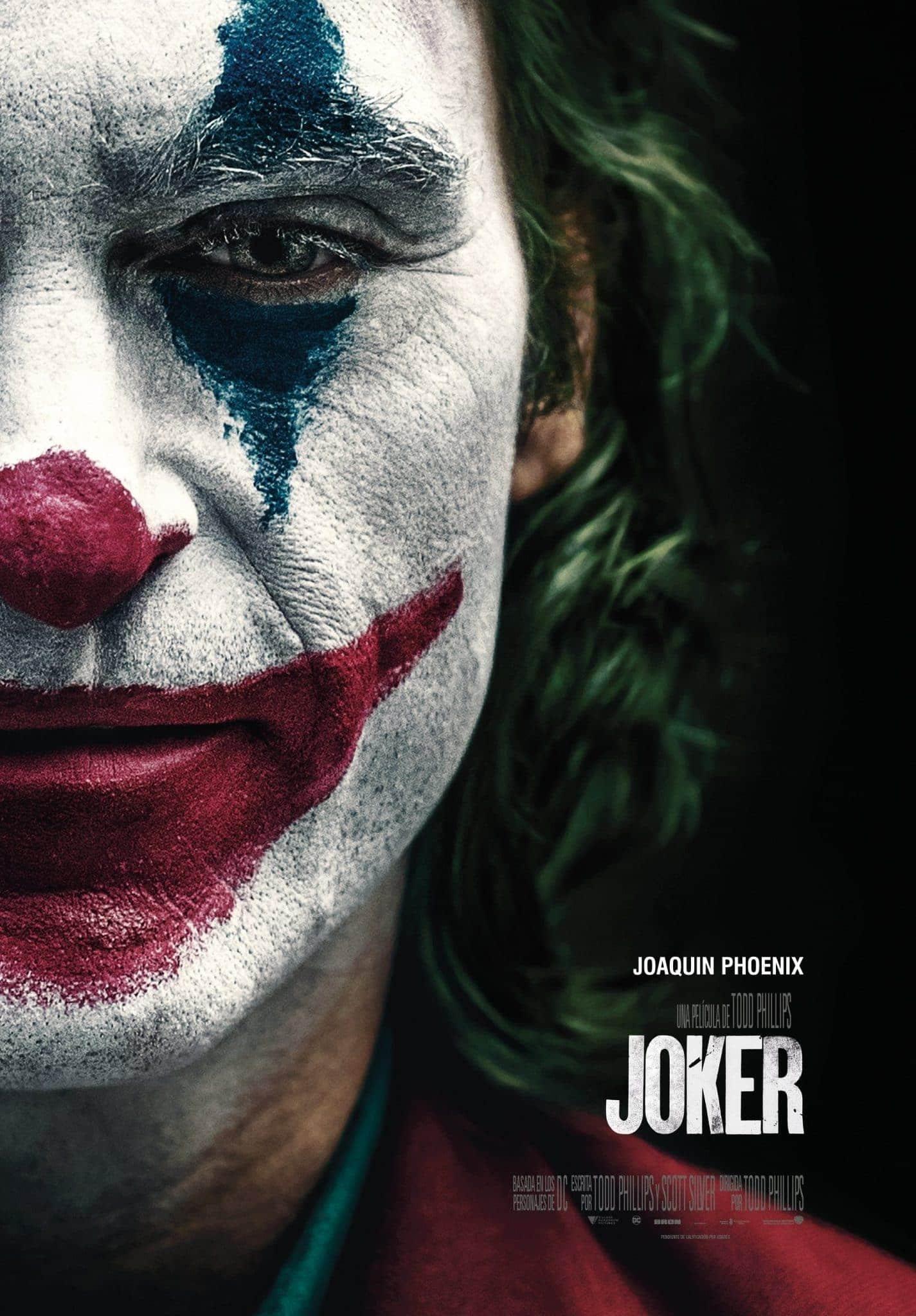 Póster oficial Joker (2019)