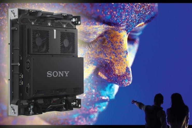 Pantalla MicroLED  de Sony
