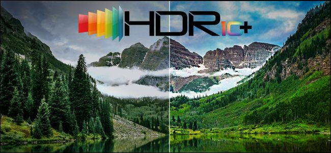 Logo del HDR10+ de Samsung