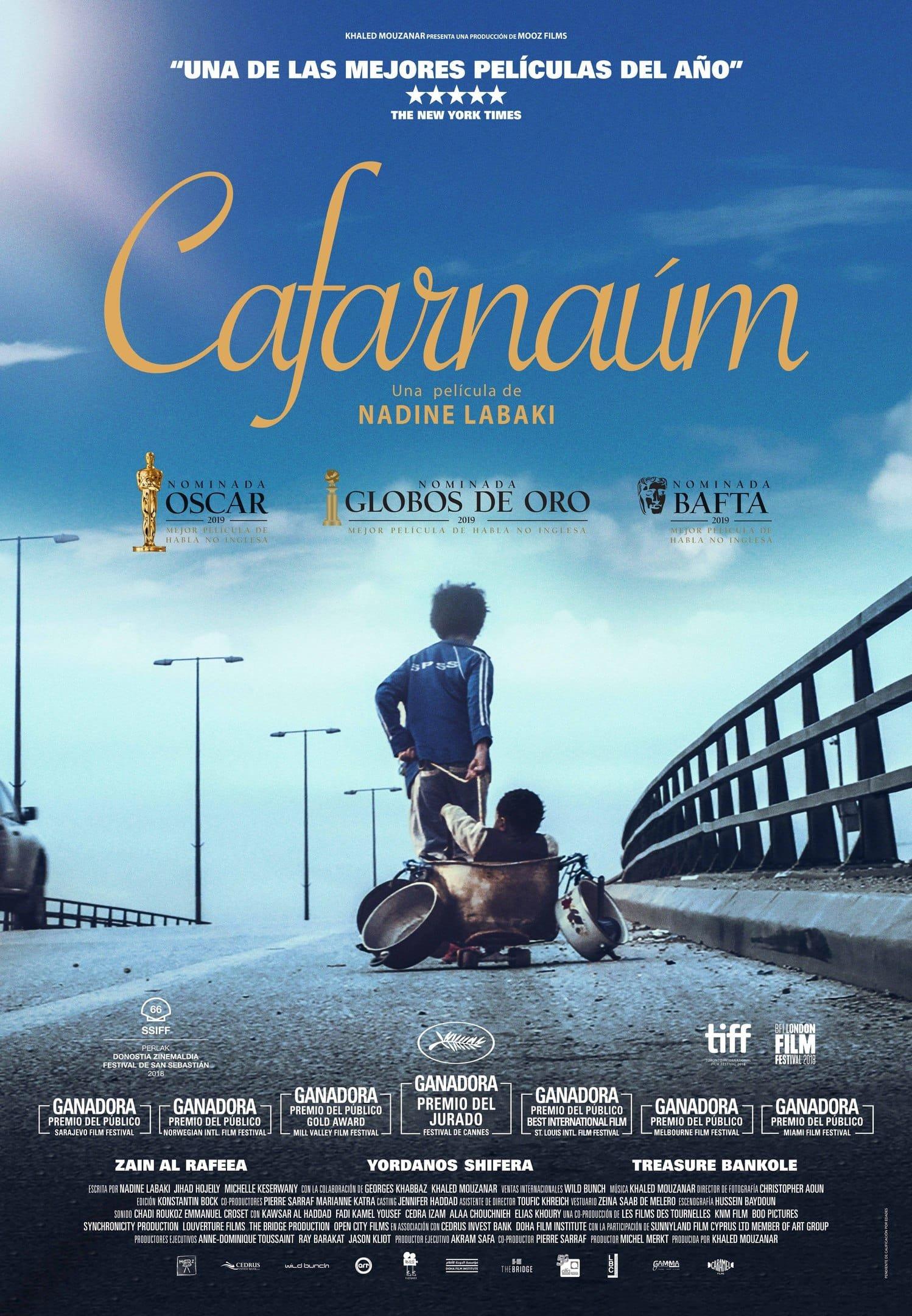 Póster Cafarnaúm (2018)