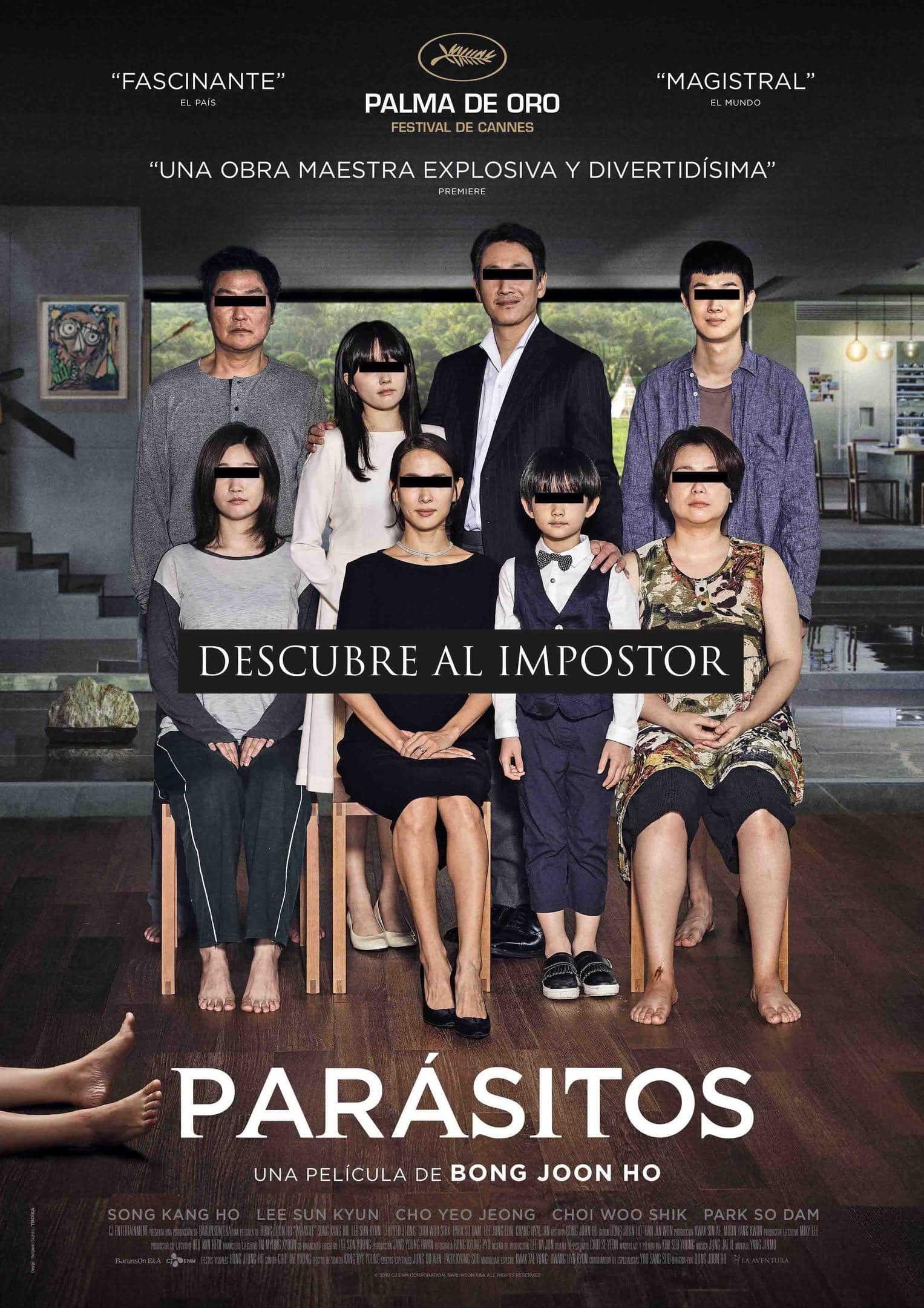 Póster Parásitos (2019)