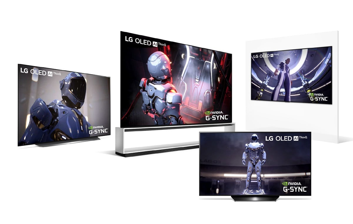 Smart TV OLED de LG presentadas en CES 2020