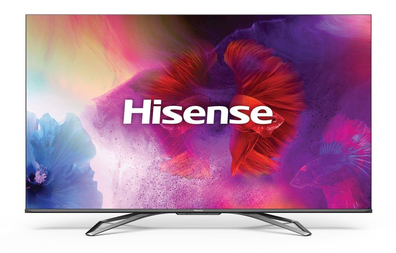 Smart TV Hisense presentada en CES 2020