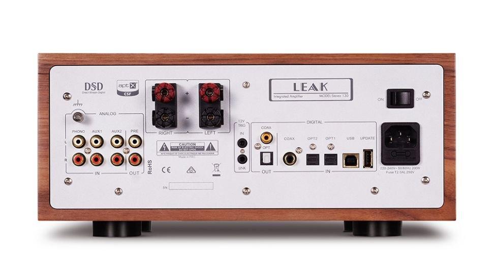 amplificador Leak Stereo 130 por detrás