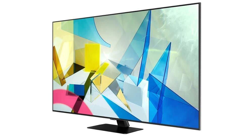 smart tv samsung q80t