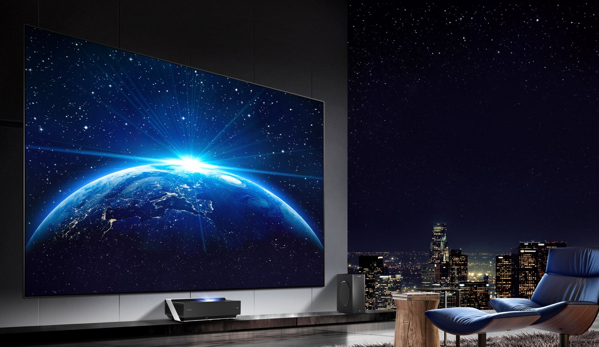 Hisense TriChroma LaserTV,