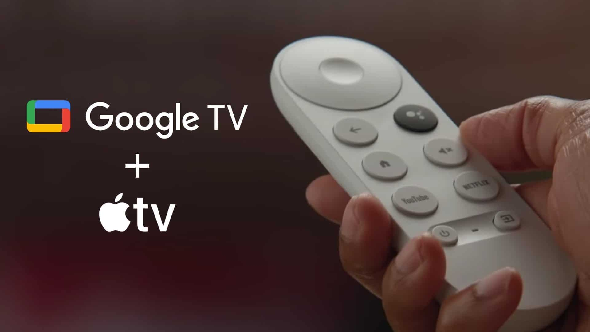 google tv apple tv