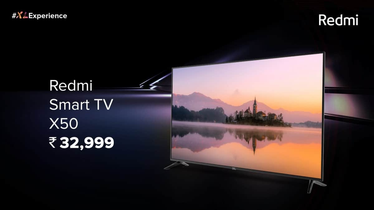 smart tv xiaomi redmi x