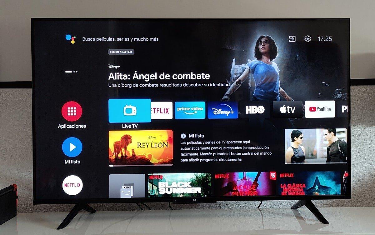 análisis Xiaomi Mi TV P1 Android tv