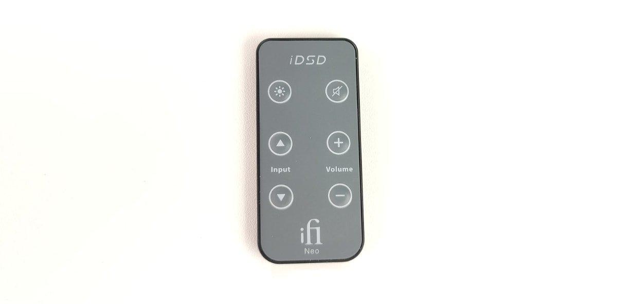 análisis iFi NEO iDSD mando